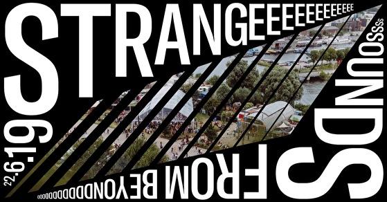 flyer Strange Sounds From Beyond