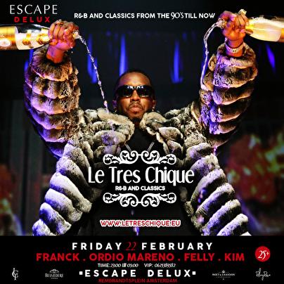 Le Tres Chique (flyer)