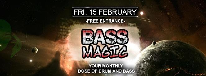 Bass Magic 15 February 2019 Magistrat Den Haag Event