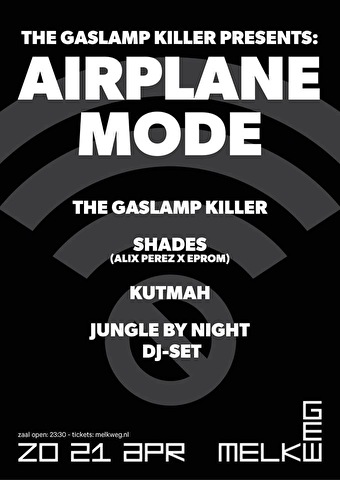 Airplane Mode Amsterdam (flyer)