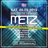 Metz at the Rooftop (flyer)