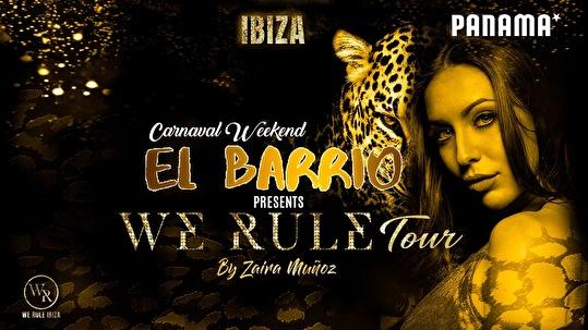 El Barrio Invites We Rule Ibiza (flyer)