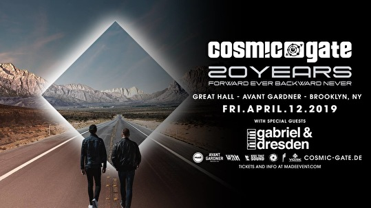 flyer Cosmic Gate