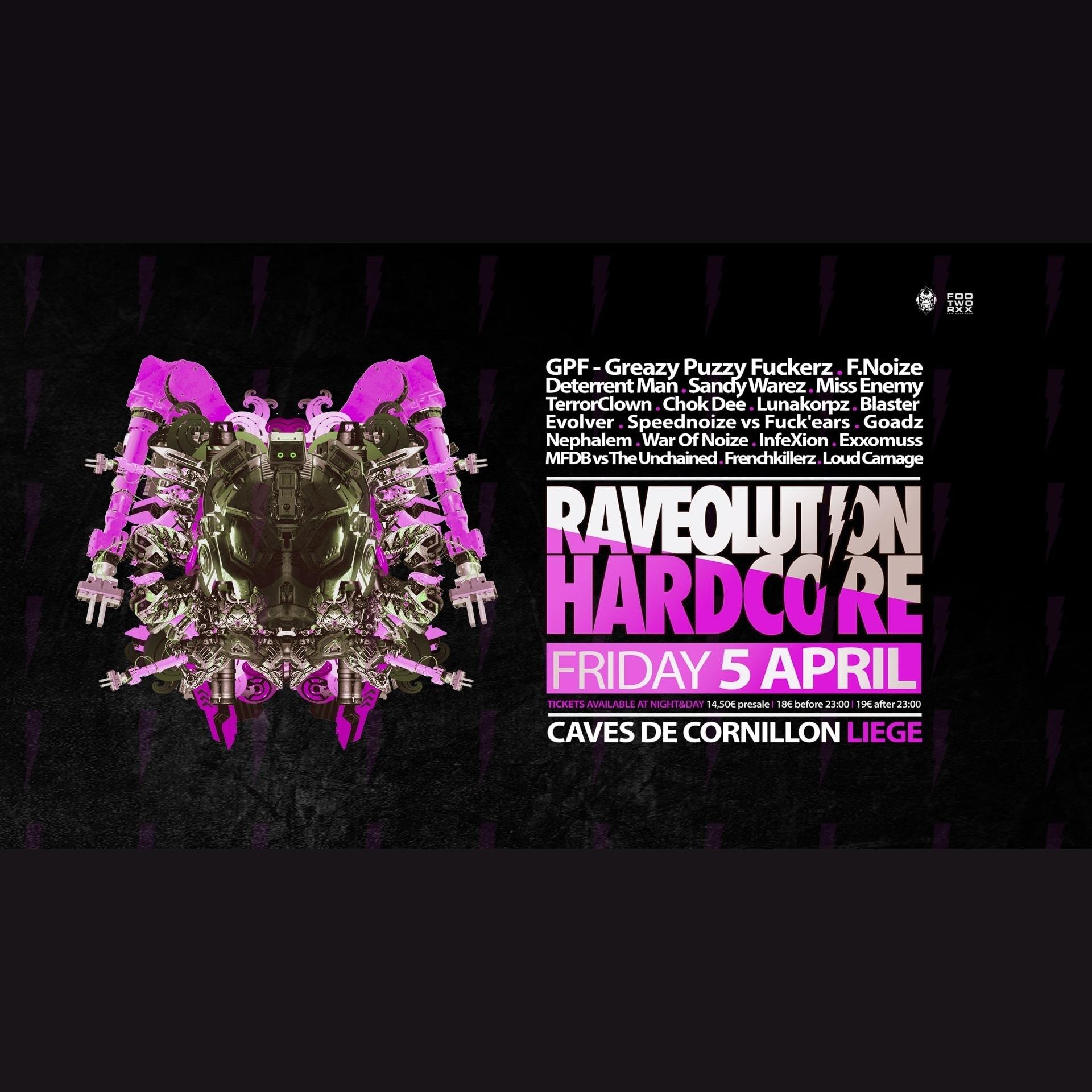 Raveolution Hardcore 2019 - Tickets, line-up & info