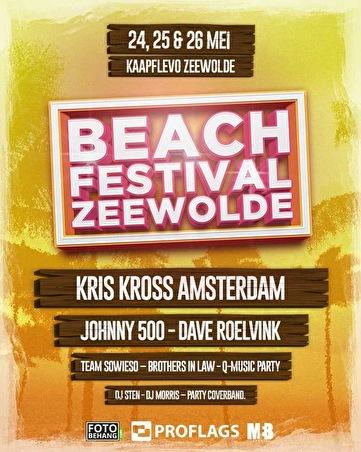 Beachfestival Zeewolde (flyer)