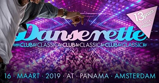 Danserette 13 Years (flyer)