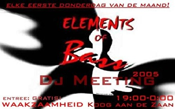 Elements of Bass (flyer)