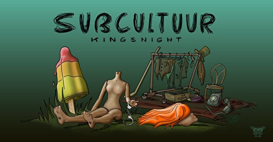 flyer Subcultuur