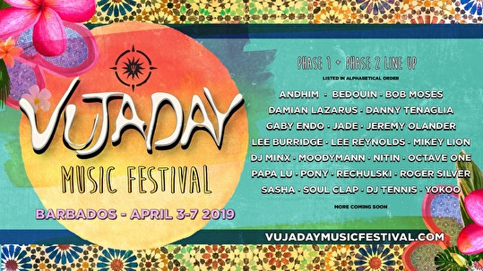 flyer Vujaday Music Festival