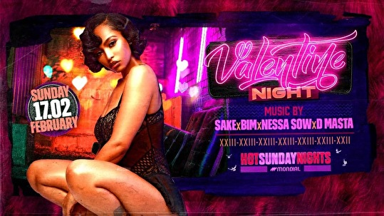 flyer Hot Sunday Night