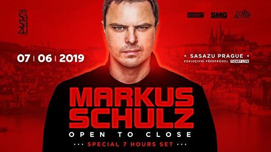 flyer Markus Schulz Open to Close
