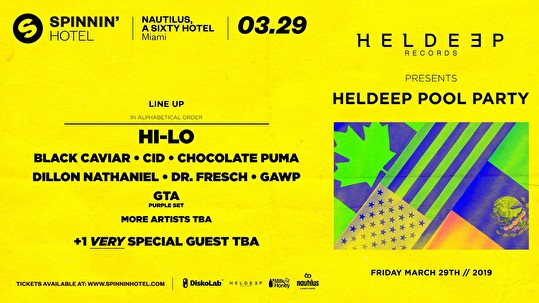 flyer Heldeep Pool Party
