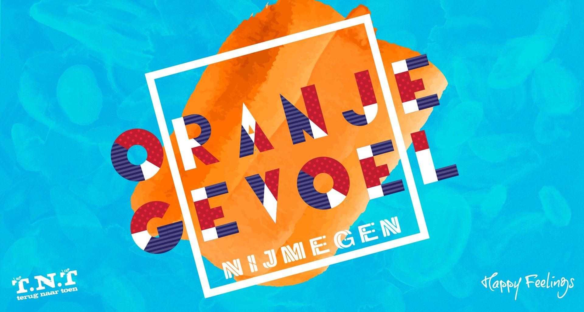 Oranjegevoel Koningsnacht 26 April 2019 Van Buren Nijmegen