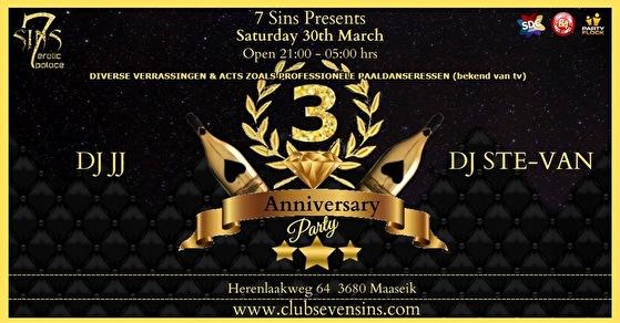 3rd Anniversary 7Sins (flyer)
