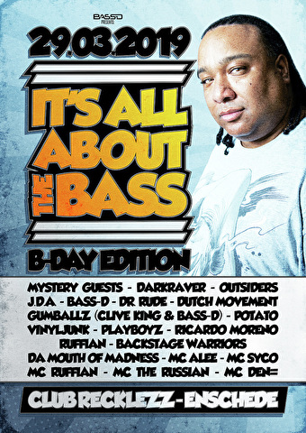 flyer It's All About The Bass