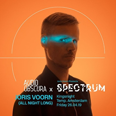 Audio Obscura × Joris Voorn (flyer)