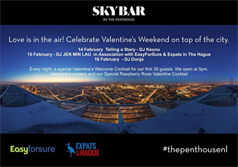 flyer The Hague Valentine's Weekend