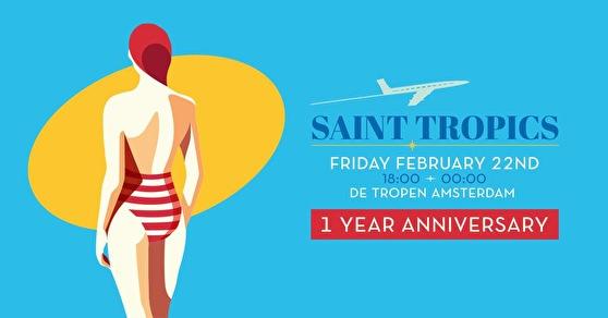 Saint Tropics (flyer)