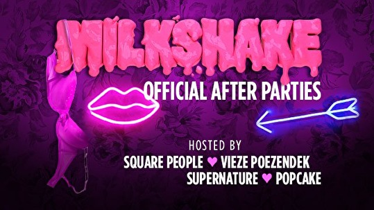 flyer Milkshake Festival Afterparty