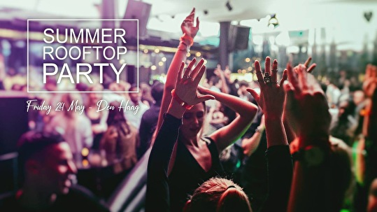 Summer Rooftop Party (flyer)