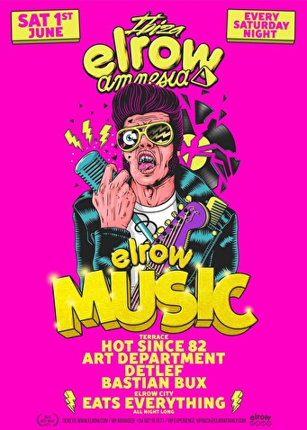 flyer elrow Ibiza