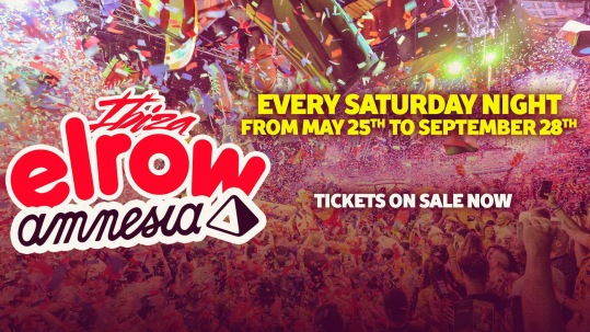 elrow Ibiza (flyer)
