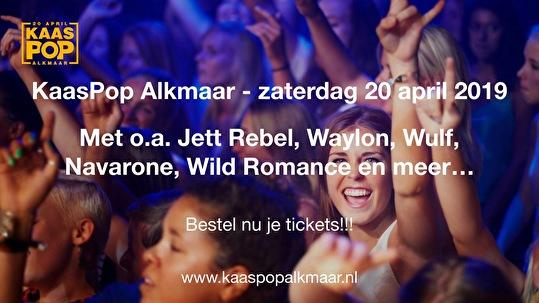 KaasPop Alkmaar (flyer)