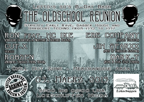 flyer Letto's 50's B-Day Bash - The Oldschool Reunion