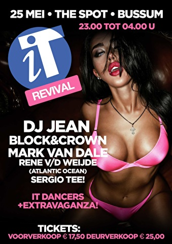 iT-Revival party (flyer)