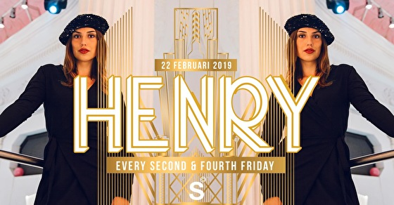 Henry at Supperclub (flyer)