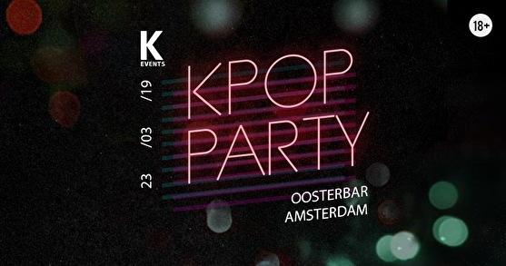 K-pop & K-hiphop Party (flyer)