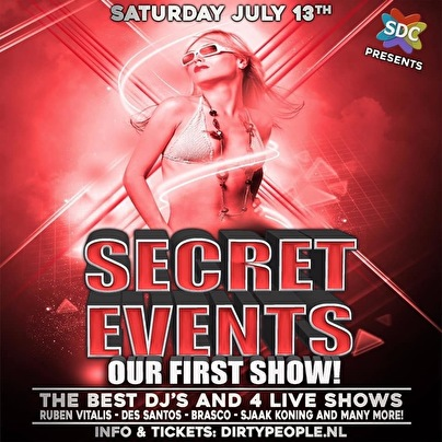 flyer SECRET-EVENTS