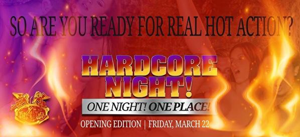 Hardcore Night (flyer)
