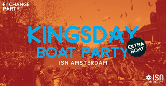flyer Kingsday Boat Party