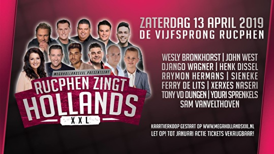 flyer Rucphen Zingt Hollands XXL