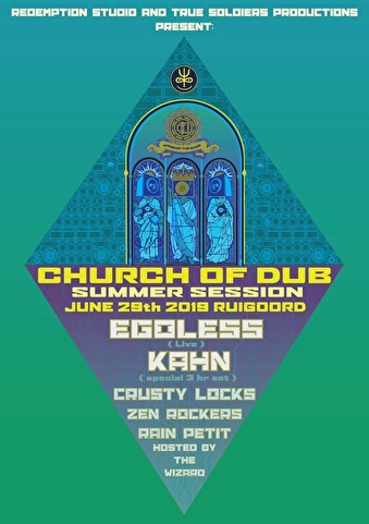 flyer Church of Dub