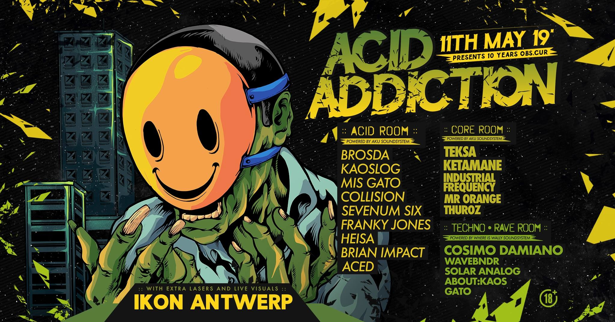 Acid Addiction - Tickets, line-up & info
