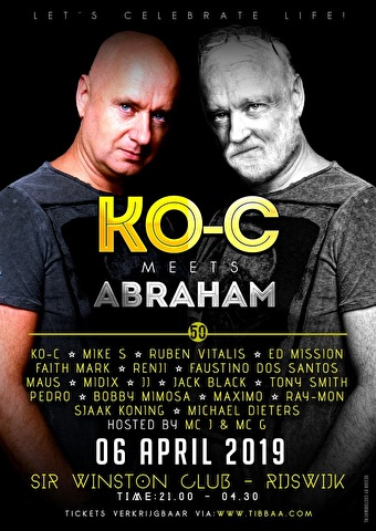 flyer Ko-C Meets Abraham