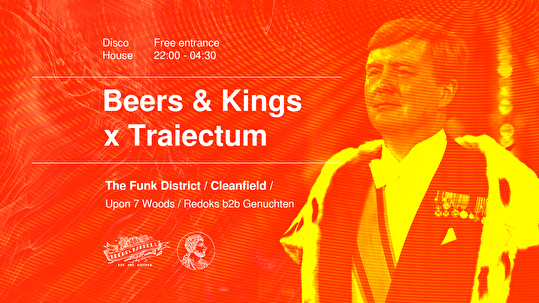 flyer Beers & Kings × Traiectum
