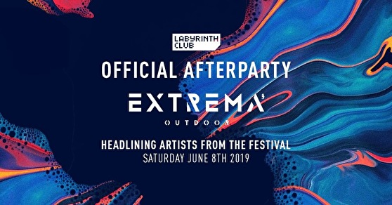 flyer Extrema Outdoor Belgium afterparty