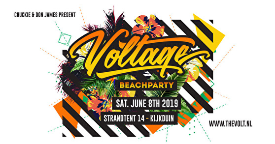flyer Voltage Beachparty