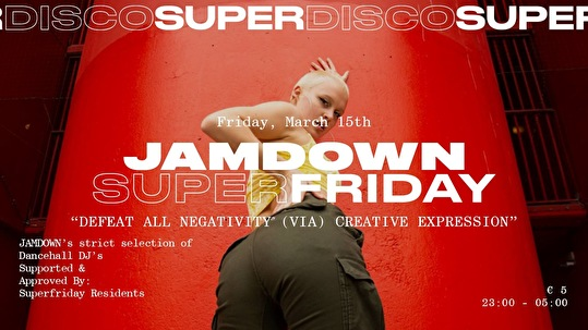 flyer Superfriday × Jamdown