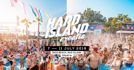Hard Island (flyer)
