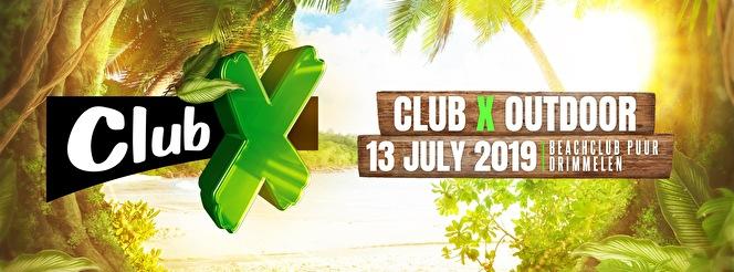 Club X Outdoor (flyer)