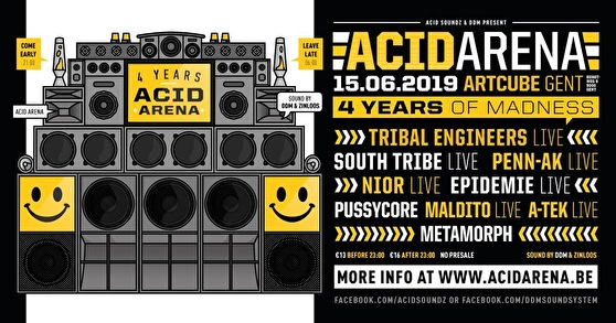 flyer Acid Arena