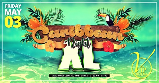 flyer Caribbean Night