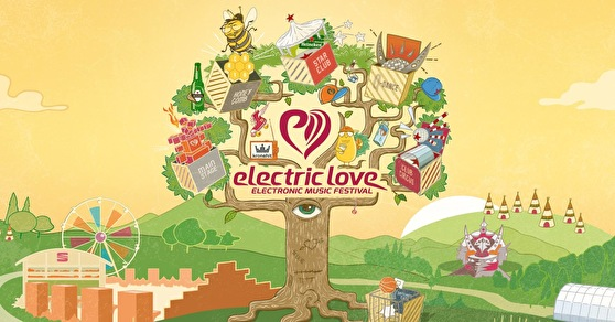 flyer Electric Love Festival