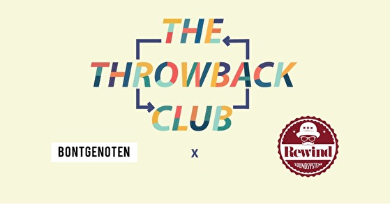 flyer The Throwback Club