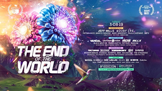 flyer The End of the World Festival