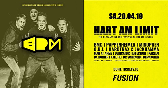 flyer Hart Am Limit